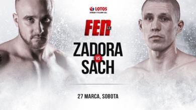 Dominik Zadora zawalczy na FEN 33! Mistrz kategorii półśredniej poznał rywala.