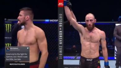 Mateusz Gamrot przegrywa debiut w UFC