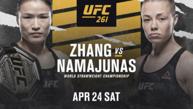 OFICJALNIE: Weili Zhang vs. Rose Namajunas na UFC 261