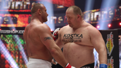 Mariusz Pudzianowski szybko kończy ciosami pojedynek z ochroniarzem Marcina Gortata - Nikolą Milanovicem! [WIDEO]