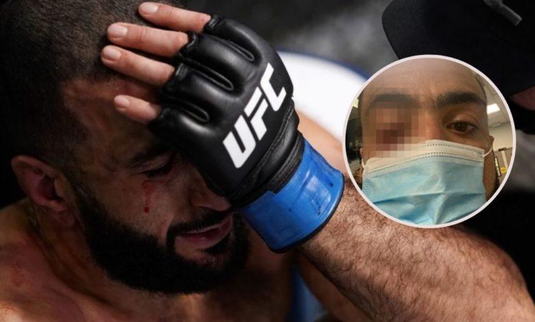 Leon Edwards sfaulował w walce wieczoru Belala Muhammada na UFC Fight Night 187. Wymowna reakcja szefa UFC.