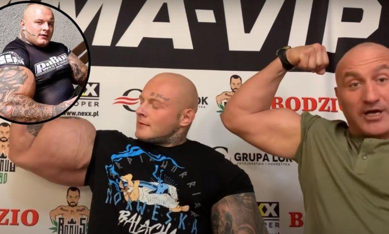 """Marcin Najman przegiął? Nasterydowany """"Król Syntholu"""" zawalczy na gali MMA-VIP 2. [WIDEO]"""