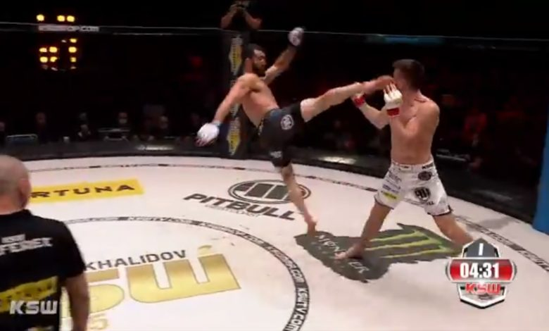 Mamed Khalidov mistrzem KSW! Znokautował Askhama w 36 sekund! [WIDEO]