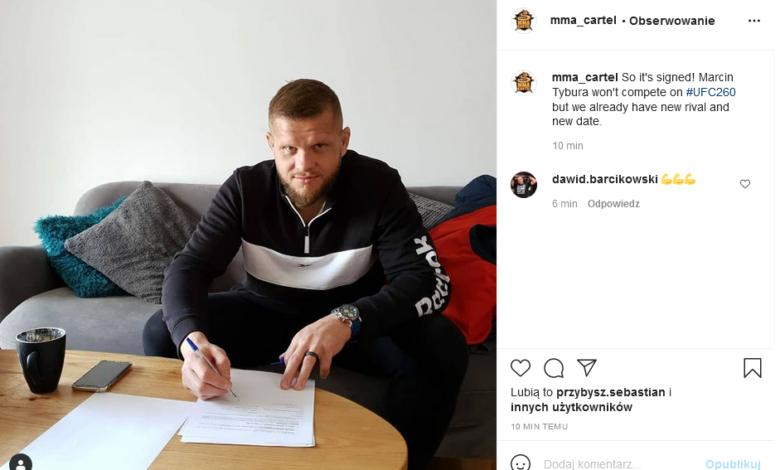 Marcin Tybura podpisał kontrakt na kolejny pojedynek w UFC!