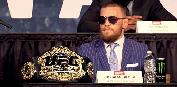 """Conor McGregor stworzył swoje dwa pasy! """"Mamy """"pas McGregora"""" obecnie w produkcji, a teraz mamy nowy..."""""""