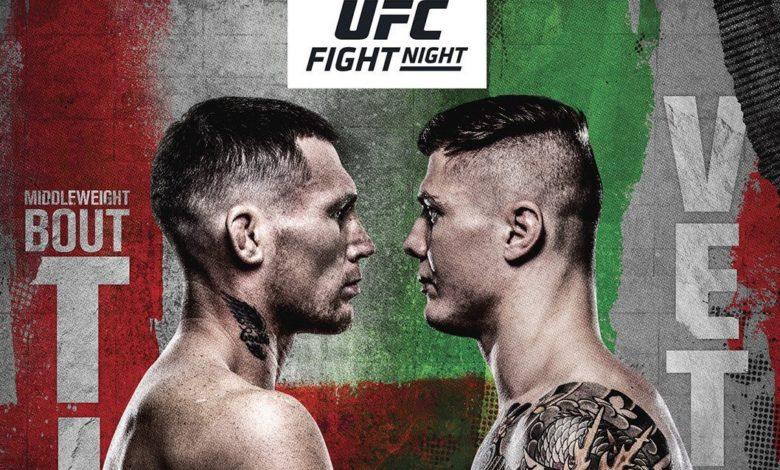 Karta walk UFC Vegas 23