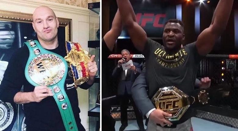 """Tyson Fury otwarty na walkę z mistrzem UFC! """"Może mieć małe rękawice albo jeśli chce gołe pięści"""""""