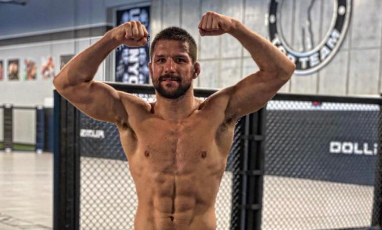 """Mateusz Gamrot przed sobotnią galą UFC: """"Ręce wysoko i trzeba się rąbać z rywalem."""""""