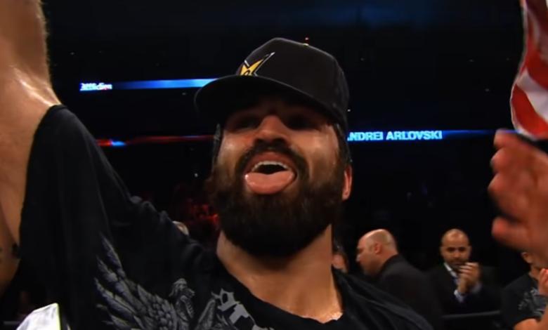 Andrei Arlovski zawalczy w zastępstwie z Chasem Shermanem już 17 kwietnia na UFC Vegas 24.