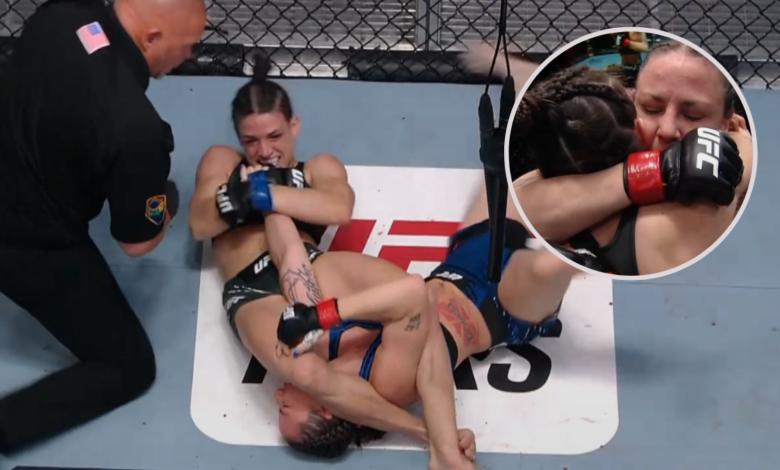 UFC Vegas 23: Mackenzie Dern poddaje Ninę Nunes balachą w pierwszej rundzie [RELACJA]