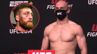 Bartosz Fabiński zrobił wagę. Jedna z zawodniczek 11 funtów poza limitem, walka odwołana! Wyniki ważenia przed sobotnią galą UFC Vegas 24.