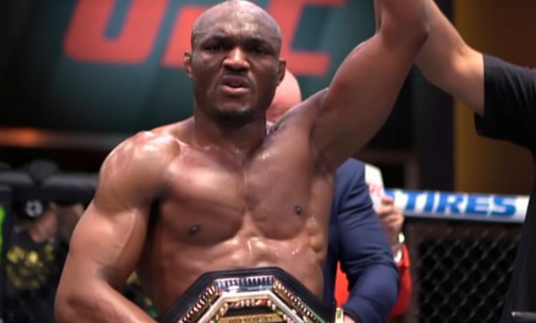 Mistrz w narożniku mistrza - Kamaru Usman z mocnym wsparciem w walce z Jorge Masvidalem na UFC 261