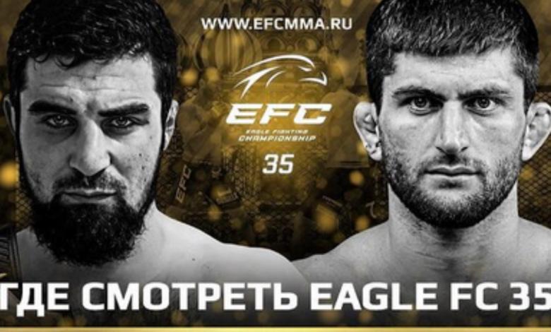 Wyniki na żywo gali Khabiba Nurmagomedova: Eagles Fighting Championship 35
