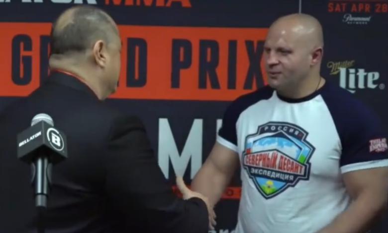 Jedna z dwóch legend UFC kolejnym przeciwnikiem Fedora Emelianenko w Bellatorze
