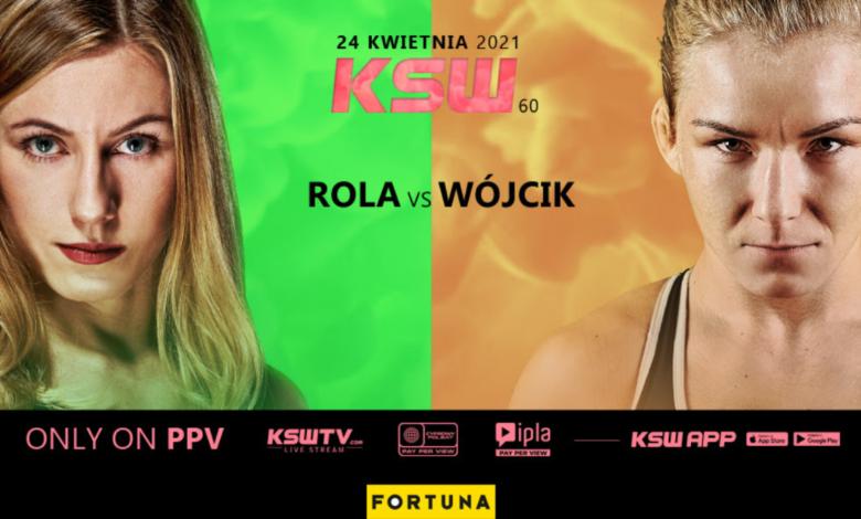 Aleksandra Rola vs. Karolina Wójcik kolejnym starciem gali KSW 60