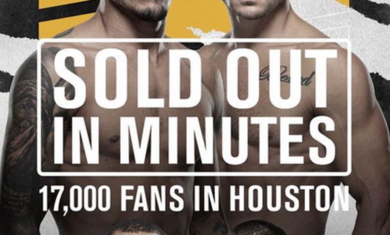 17.000 biletów na UFC 262 zostało wyprzedane w kilka minut
