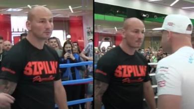 (VIDEO) Gorąca na face to face przed pojedynkiem Artur Szpilka vs Łukasz Różański!