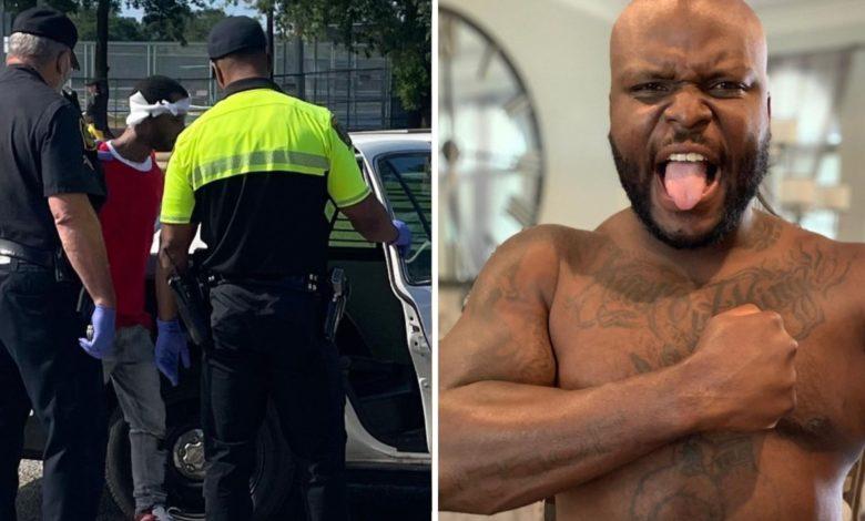 """Derrick Lewis sam rozprawił się ze złodziejem: """"Skur**el wybrał nieodpowiednie auto"""" [WIDEO]"""