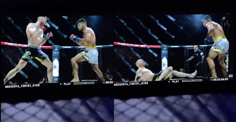 Robert Bryczek znokautowany na gali OKTAGON MMA. [WIDEO]