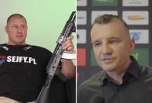 """Trener Okniński o konflikcie z Pawłem Jóźwiakiem: """"Pan prezes jest rozsądnym człowiekiem i nie zaryzykuje wojny ze mną"""""""