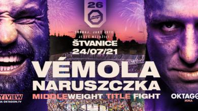 Marcin Naruszczka zmierzy się z Karlosem Vemolą o pas mistrzowski na lipcowej gali OKTAGON 26