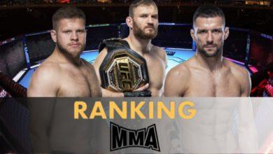Ranking polskich zawodników MMA