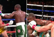 Logan Paul dostał lekcję boksu od Floyda Mayweathera. Youtuber zaskoczył i przetrwał pełen dystans! [WIDEO]