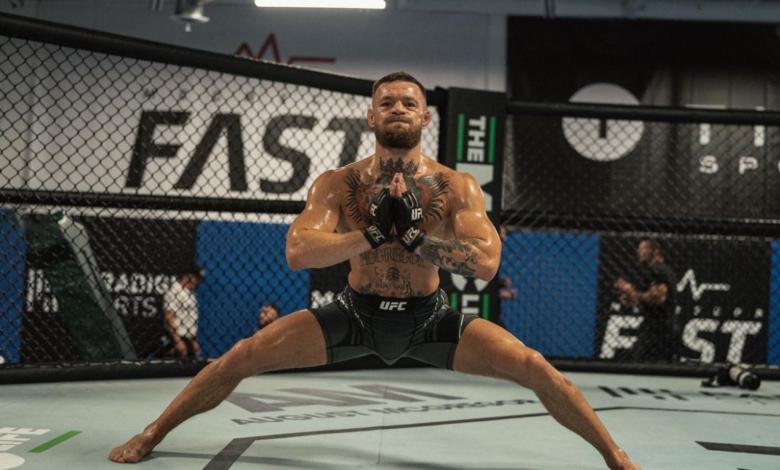 """McGregor zamierza zadawać śmiertelne ciosy w walce z Poirierem: """"Jest martwy, to zwłoki. Zabiję tego gościa"""""""