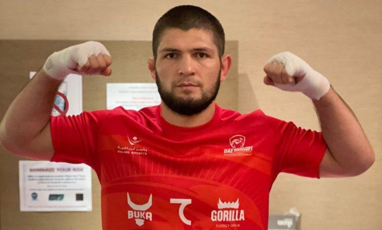 """Khabib wymienia sześciu najlepszych fighterów w historii: """"Jestem na tym samym poziomie, co..."""""""