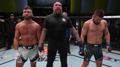 """Rywal Mateusza Gamrota zabrał głos po szybkiej porażce na UFC Vegas 31: """"Czuję, że..."""""""