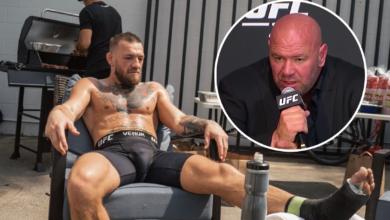 """Dana White o problemach zdrowotnych McGregora: """"Dostał pozwolenie od komisji sportowej, ale tego nie zrobił. Od lat cierpi na..."""""""