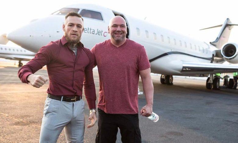 """Conor McGregor i Dana White zapowiadają rekord PPV: """"Mamy największą sprzedaż w historii. Sobotnia noc będzie ku*wa szalona. Najwięcej celebrytów od 20 lat"""""""