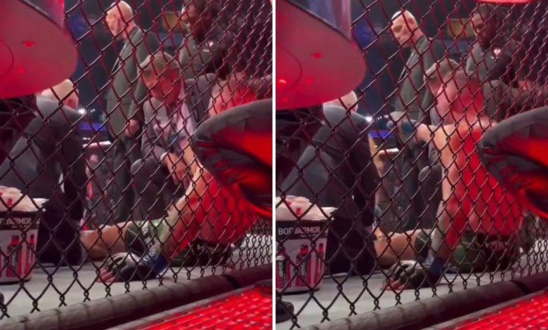 (VIDEO) Szokujące zachowanie McGregora! Po przegranej walce krzyczał, że zabije Poiriera i jego żonę!
