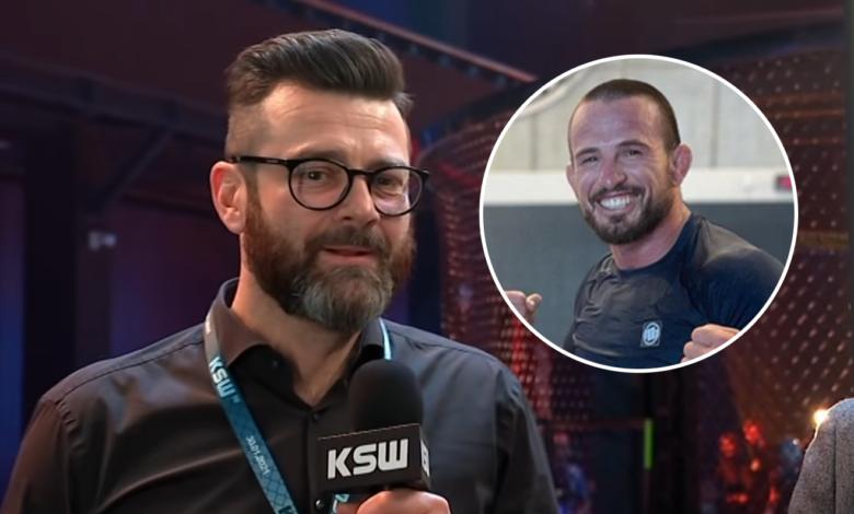 """Martin Lewandowski o walce Mańkowskiego w Fame MMA: """"Borys się zachowuje tak, jak powinien zachować się dorosły facet"""""""