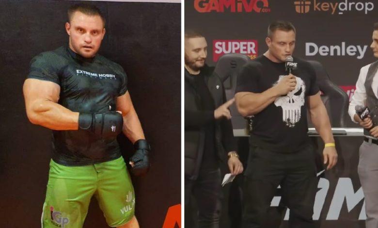 """(VIDEO) Krzysztof Radzikowski przed debiutem w Fame MMA: """"Zrzuciłem ponad 30 kg, teraz mam 120. Robię to cardio i wiem, jak ciężko to zrobić"""""""