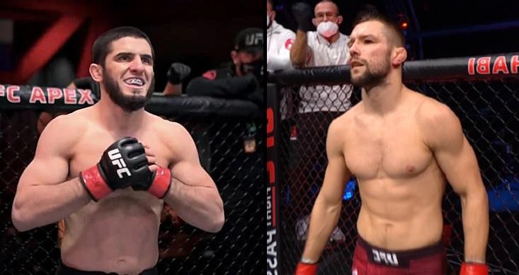 """(VIDEO) Mateusz Gamrot kontra Islam Makhachev na UFC 267? Norman Parke komentuje. """"To niesamowicie dobre zestawienie"""""""