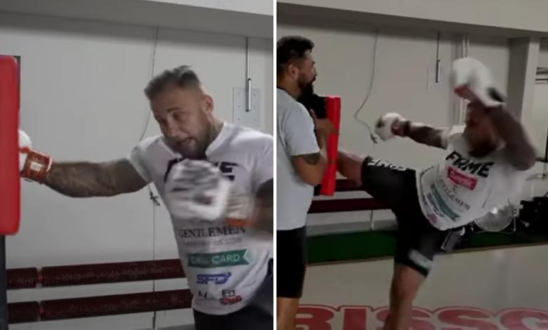 (VIDEO) Piotr Szeliga sprawdzić siłę swoich ciosów. Z jaką mocą bije zawodnika Fame MMA?