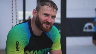 """(VIDEO) Błachowicz o przygotowaniach do UFC 267: """"Dawno nie czułem takiej presji. Takiego tempa, jeśli chodzi o walkę parterową"""""""