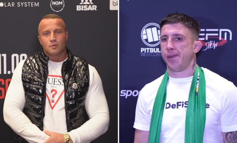 """Norman Parke nie widzi szansy na walkę z Denisem Załęckim: """"Nie zawalczy ze mną, tak samo, jak ja nie wrócę do UFC walczyć z Khabibem"""""""