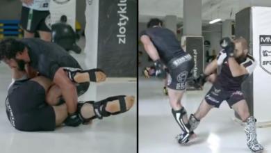 (VIDEO) Mamed Khalidov sparuje z byłym mistrzem KSW Aslambekiem Saidovem