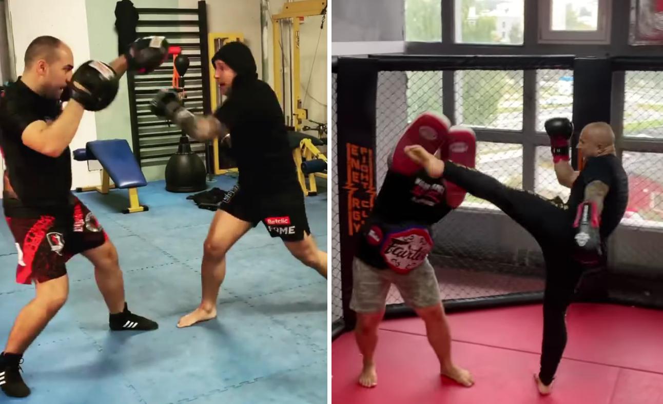 """(VIDEO) Mateusz Murański przygotowuje się do kolejnego pojedynku: """"Nauczyłeś się więcej w dwa miesiące niż Szeliga w pół roku..."""""""