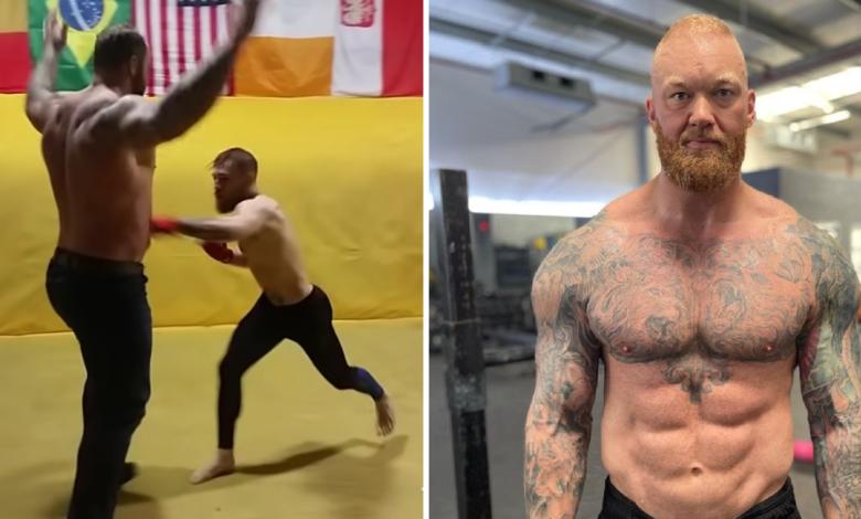 """(VIDEO) """"Góra"""" o sparingu z McGregorem: """"Powinien mi zapłacić za to, że go nie zmiażdżyłem. W 10 sekund byłoby po wszystkim"""""""