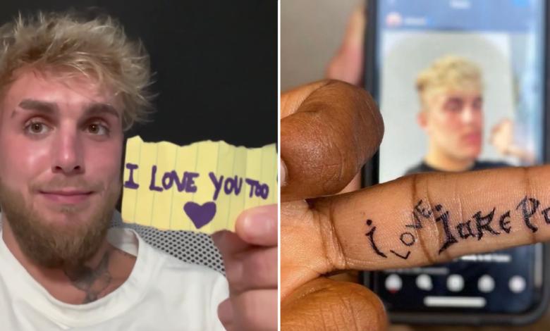 """(VIDEO) Tyron Woodley nie będzie zadowolony. Jake Paul odpowiedział na jego tatuaż: """"Czy dorosły gościu właśnie..."""""""