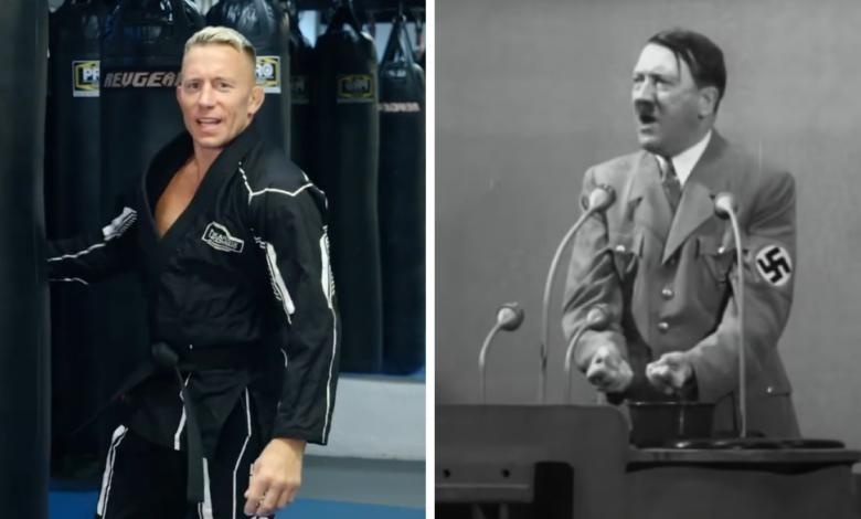 Georges St-Pierre wskazał wymarzonego rywala! Legenda UFC chciałaby zawalczyć z... Adolfem Hitlerem!