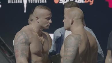 (VIDEO) Denis Załecki vs Jussi Halonen - Intesywne face to face przed galą EFM SHOW 2!