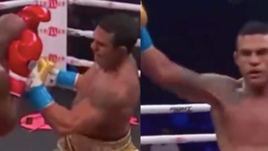 [WIDEO] Vitor Belfort zdemolował w 1. rundzie legendarnego Evandera Hollyfielda
