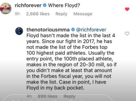 Conor McGregor na szczycie listy Forbesa! Zapowiedział debiut w wadze średniej?!