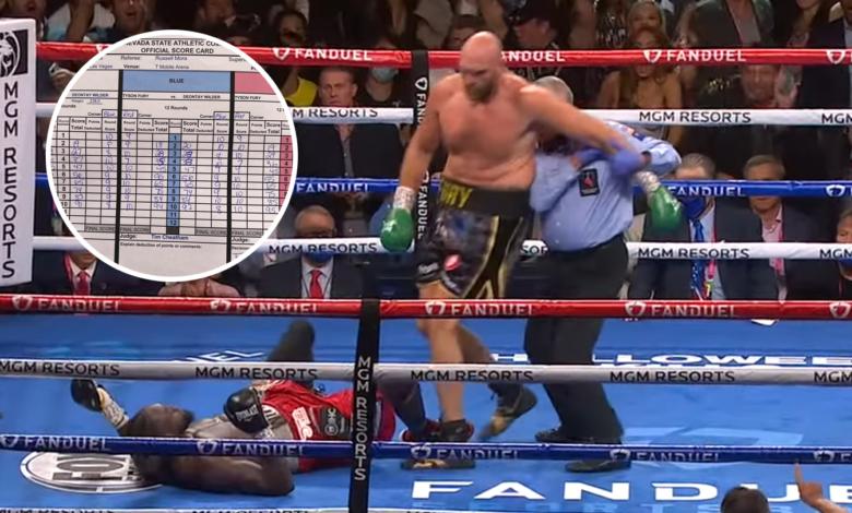 Duże zaskoczenie! Tak sędziowie punktowali walkę Tyson Fury vs Deontay Wilder