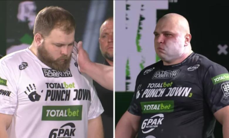 """(VIDEO) Liście """"Zalesia"""" wstrząsnęły nawet rosyjską legendą. Polak pokonał Wasilija Kamotskiego na gali PunchDown"""