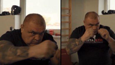 """(VIDEO) Jest urywek nagrania z treningu Miśka z Nadarzyna! """"Co to ma być? On nawet nie umie..."""""""